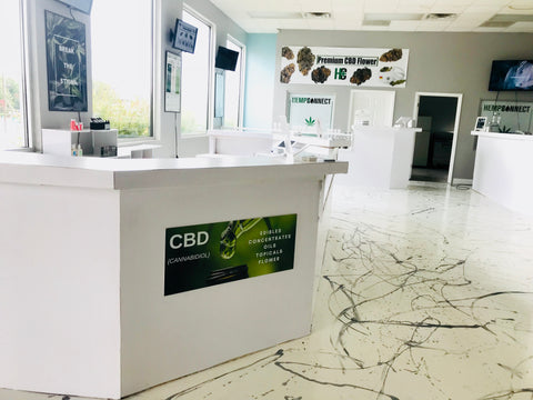 Hemp Connect CBD dispensary