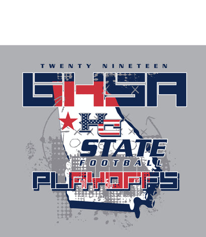 HARALSON COUNTY FOOTBALL PLAYOFF SHIRTS
