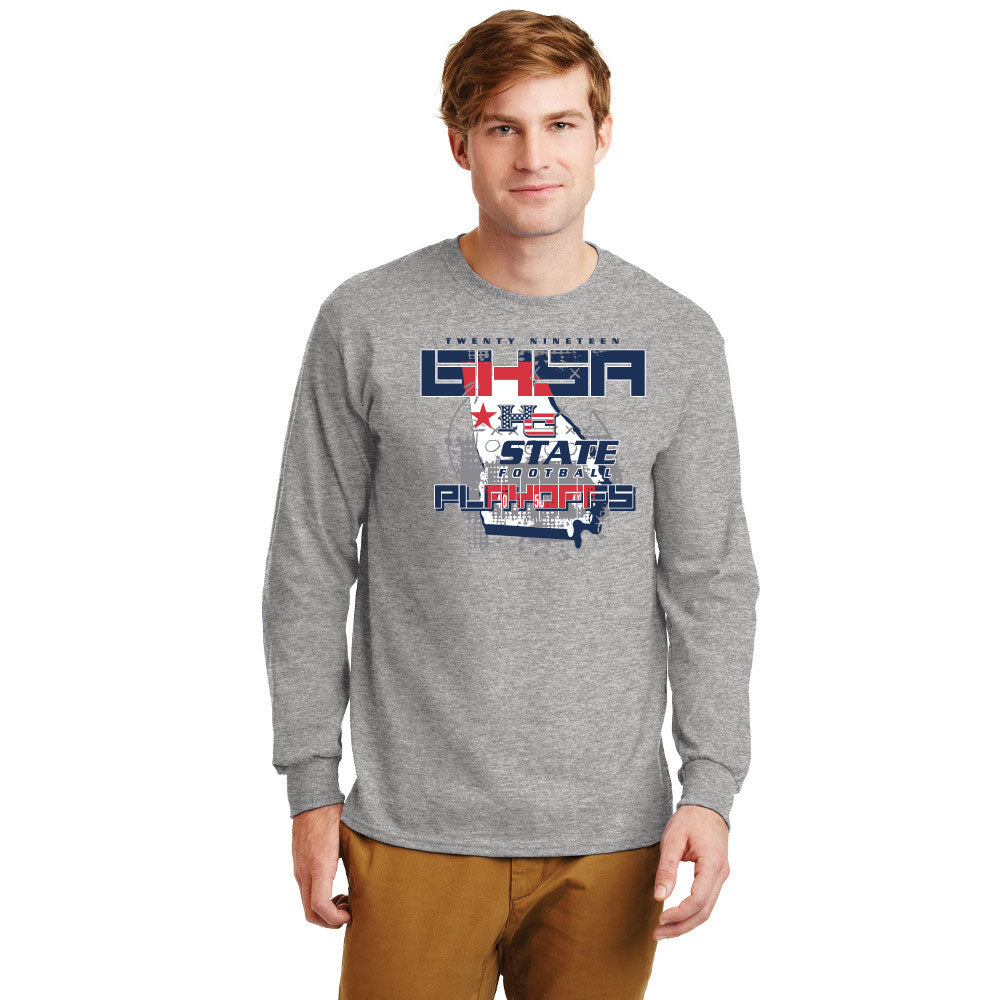 HC Playoff Shirt - Long Sleeve Cotton - $18