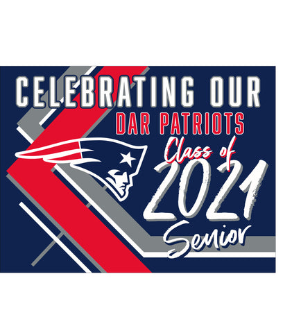 DAR Yard Sign - Celebrating our Senior