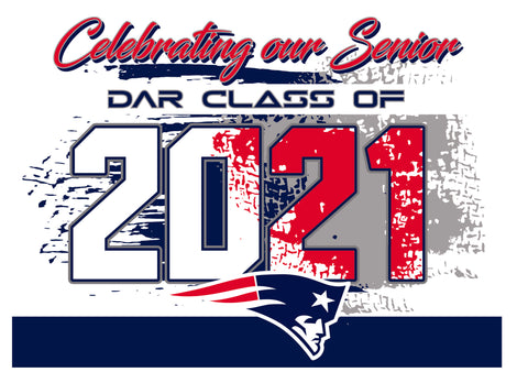 DAR Yard Sign - Senior 2021