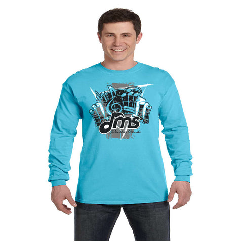 Comfort Color - Long Sleeve - Fanfare design - $20