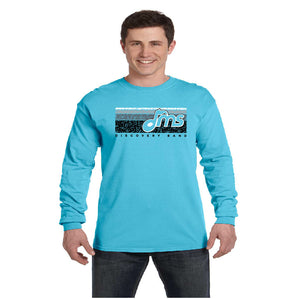 Comfort Color - Long Sleeve - Music Bars design - $20