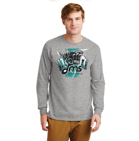Band Long Sleeve Cotton - Fanfare design - $18