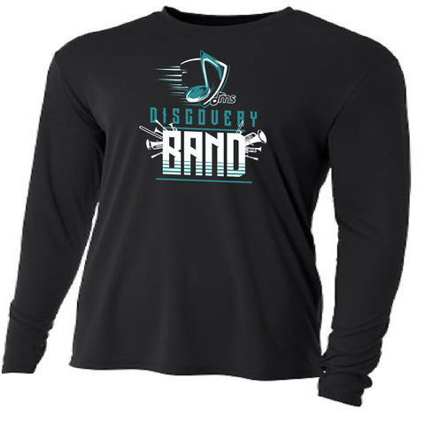 DMS Band Long Sleeve Poly - Music Note design - $20