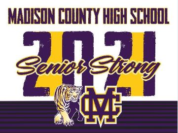 MCHS Yard Sign - Senior Strong