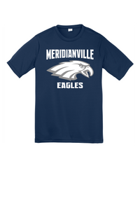 Cotton t-shirt for the family - Meridianville Eagles with NAME on back