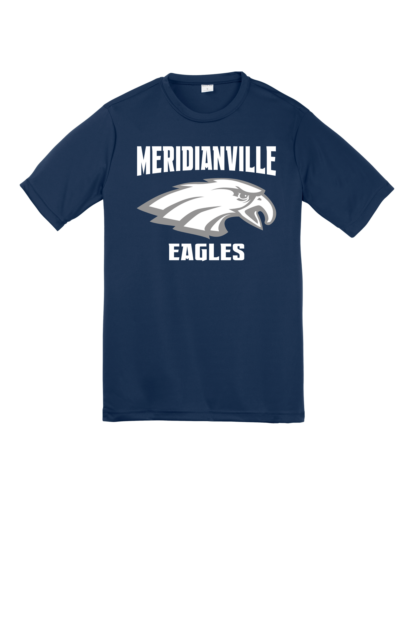 Cotton t-shirt for the family - Meridianville Eagles front logo
