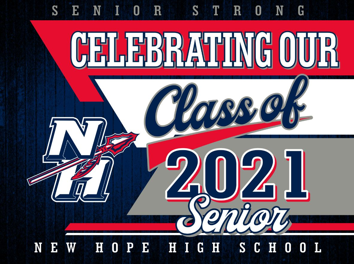 New Hope Yard Sign - Senior 2021