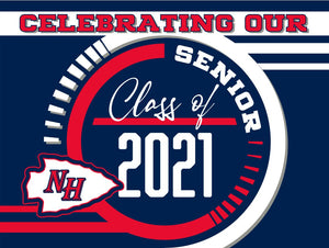 New Hope Yard Sign - Celebrating our Senior