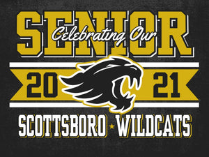 Scottsboro Yard Sign - Celebrating our Senior