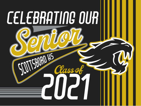 Scottsboro Yard Sign - Senior 2021