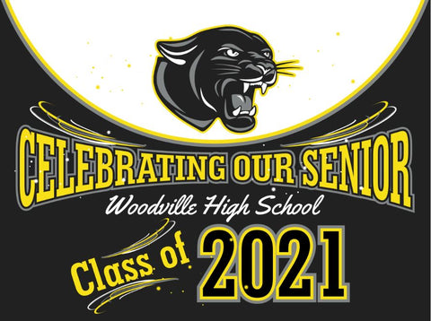 Woodville Yard Sign - Class 2021