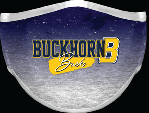 Buckhorn face covering - Ombre