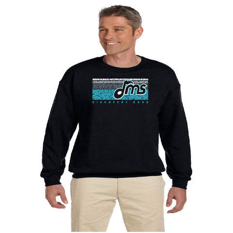 DMS Band Crewneck Sweatshirt - Music Bars design - $20