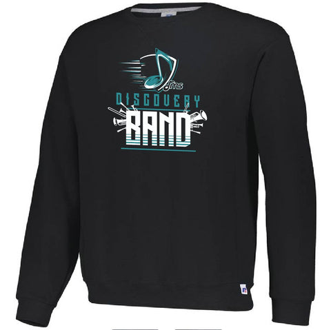 DMS Band Crewneck Sweatshirt- Heavy Weight Russell brand - Music Note design - $25
