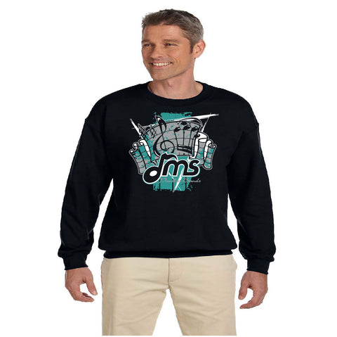 DMS Band Crewneck Sweatshirt - Fanfare design - $20
