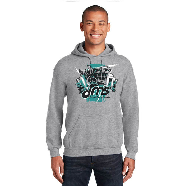 DMS Band Hoodie - Fanfare design - $25