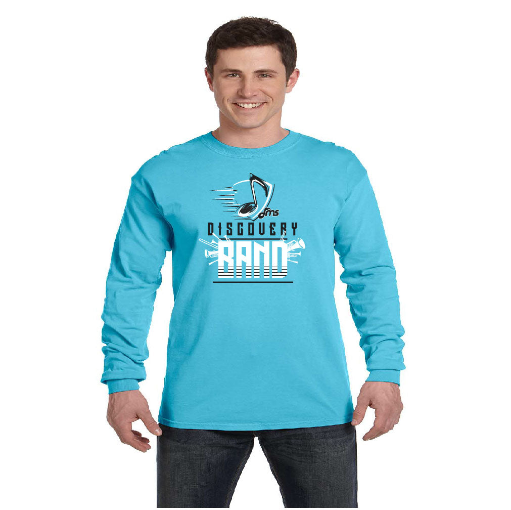 Comfort Color - Long Sleeve - Music Notes design - $20