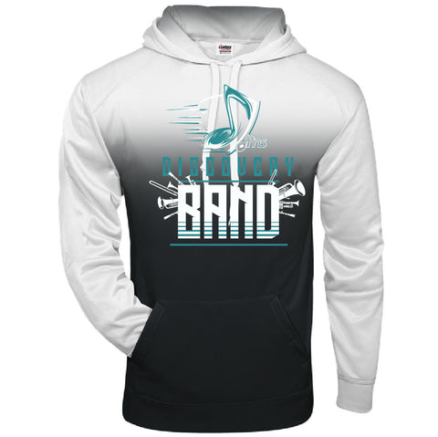 Ombre Hoodie -  Music Note design - $46