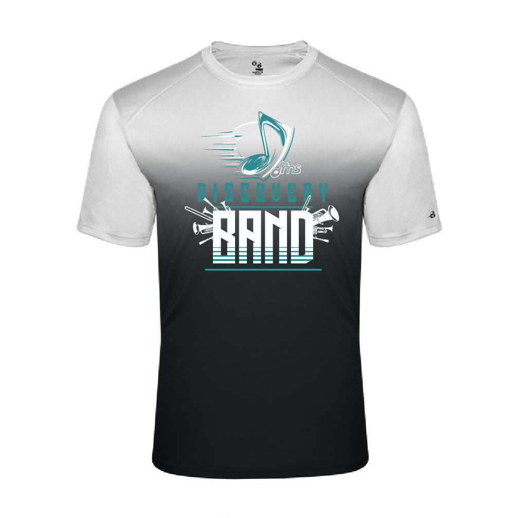 Ombre Short Sleeve -   Music Note design - $20