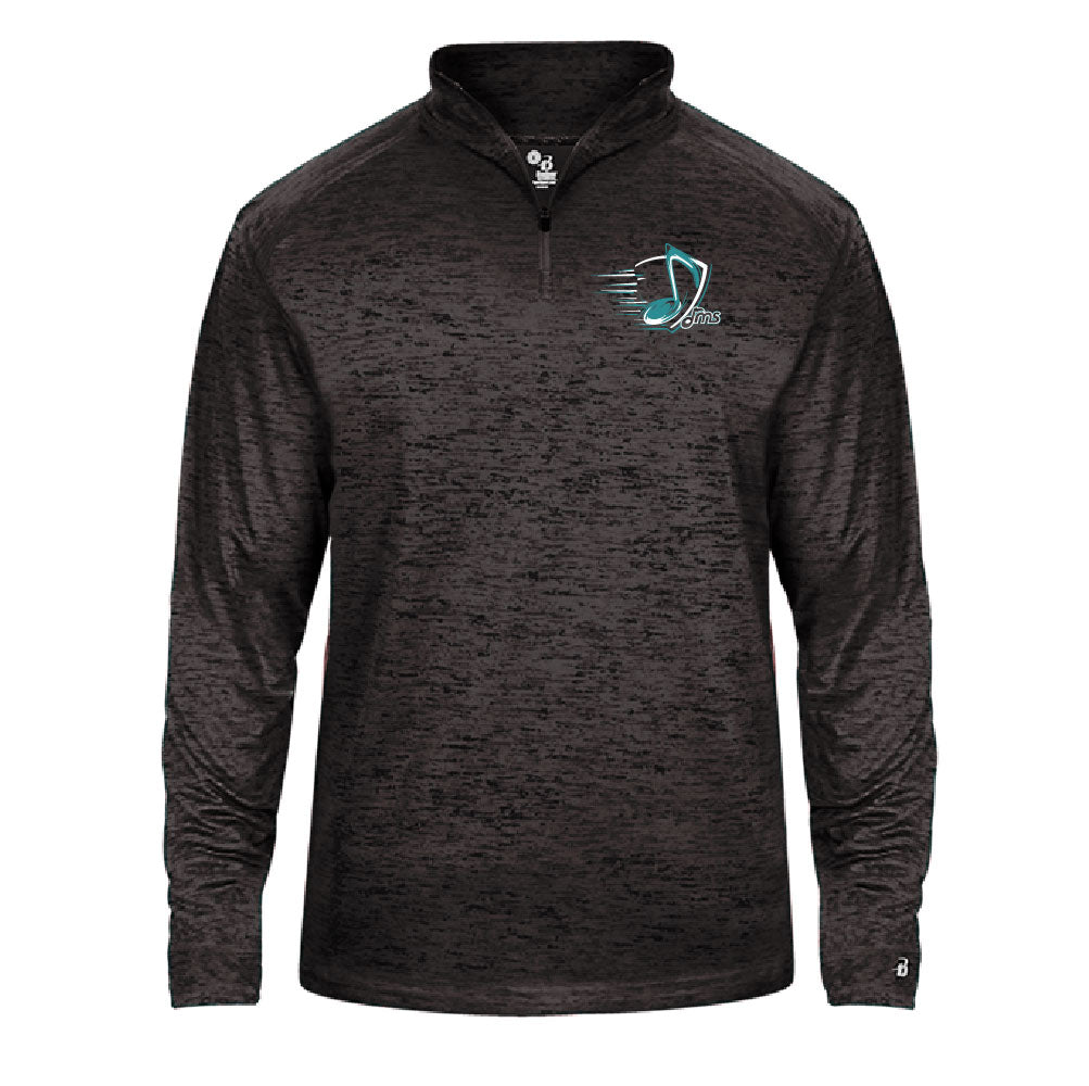 Quarter Zip Tonal- light weight - Music Note design - $28