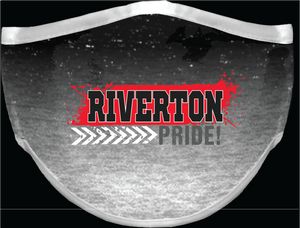 Riverton face covering - Ombre