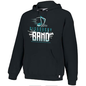 DMS Band Hoodie- Heavy Weight Russell brand - Music Note design - $30