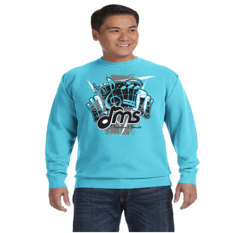 Comfort Color - Sweatshirt - Fanfare design - $30