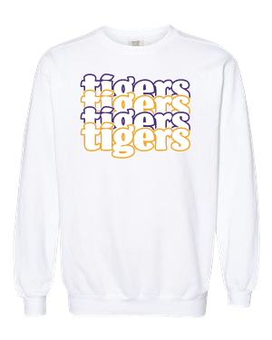 TIGERS - Sweatshirt Comfort Color