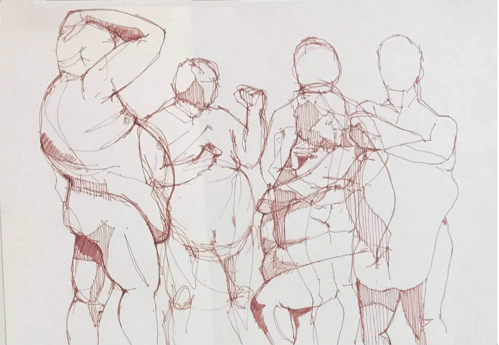Form & Figure - Life Drawing Class 29th March 2020 2-4pm * Cancelled