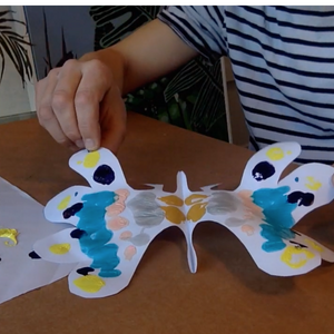 Online Masterclass: How to Create a Butterfly Print with Benjamin Thomas Taylor