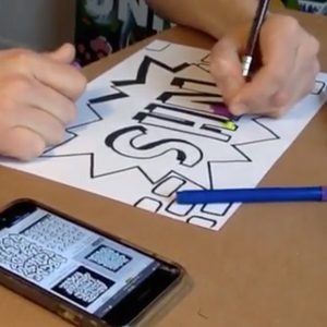 Online Masterclass: Design your own Graffiti tag for the NHS