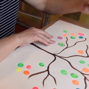 Online Masterclass: Create a Finger Print Tree