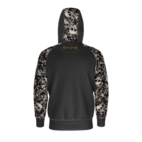 Image of Skulls Sleeves with Hood Panel