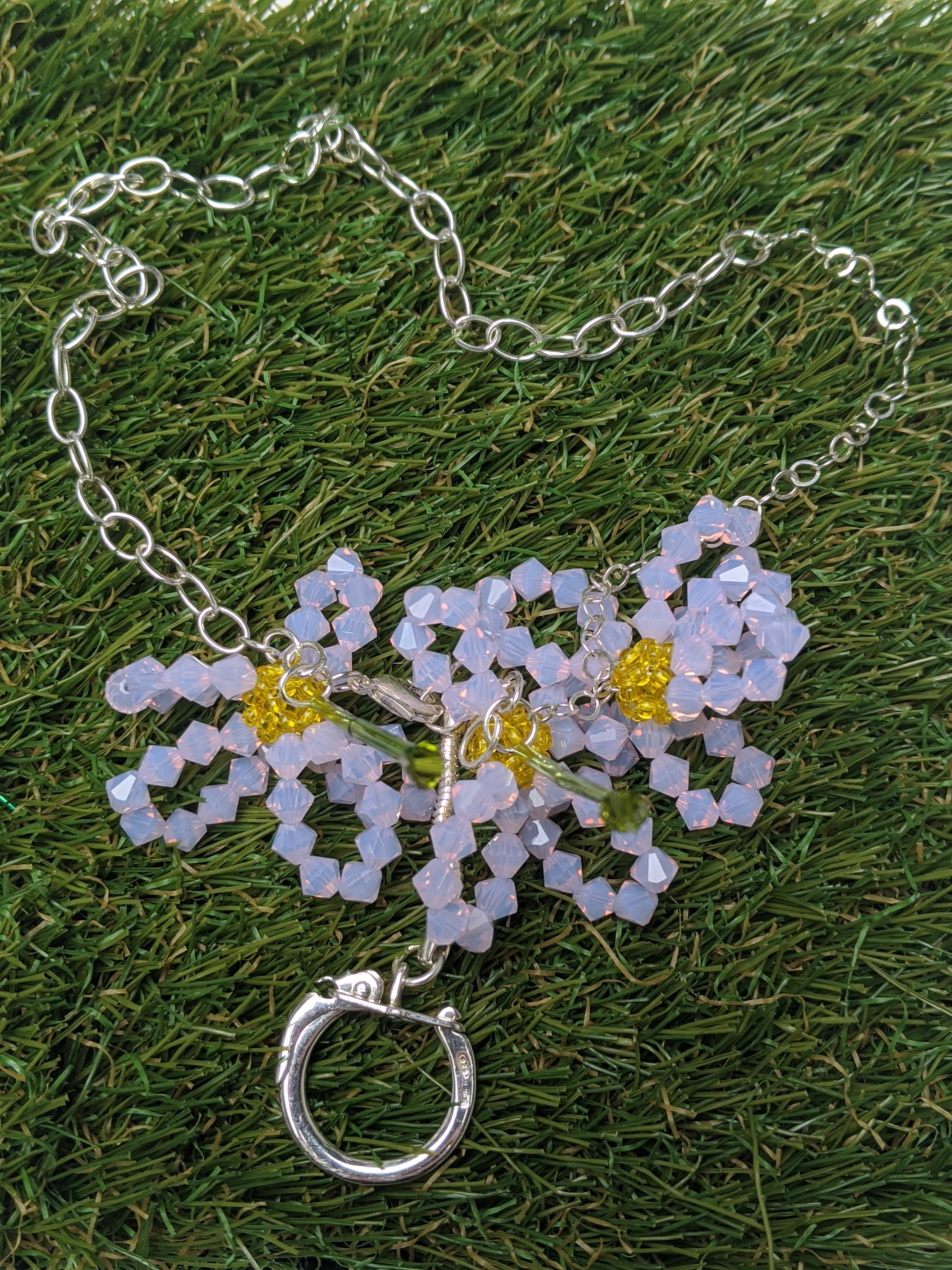 Aster Chinensis Necklace
