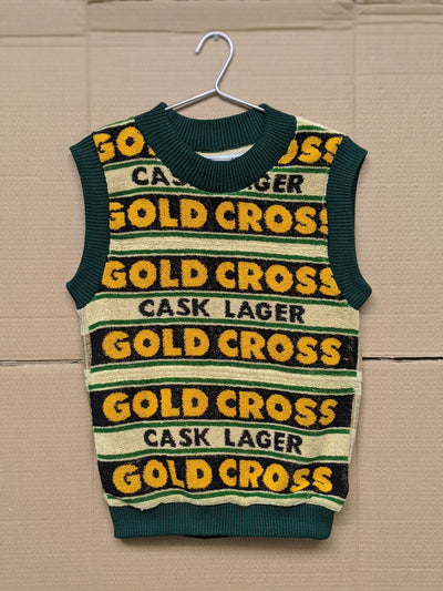 Gold Cross Beer Towel Vest