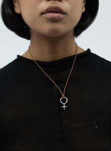 Gender Pendant necklace