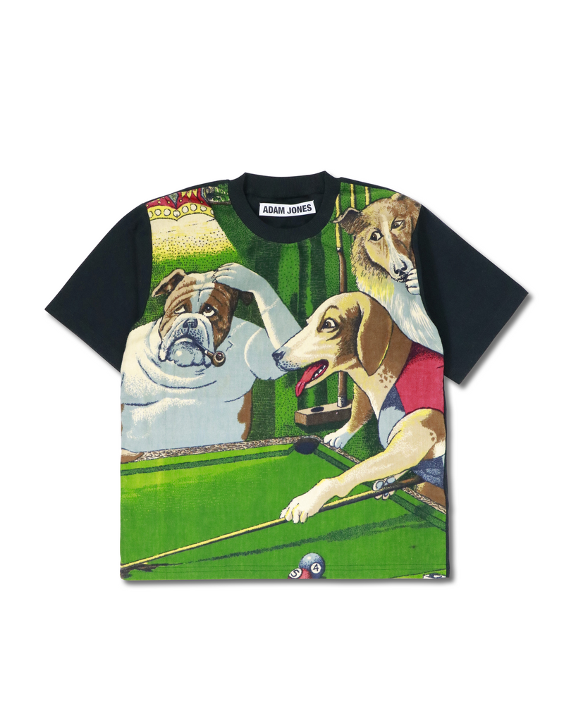 Dogs Playing Pool T-Shirt