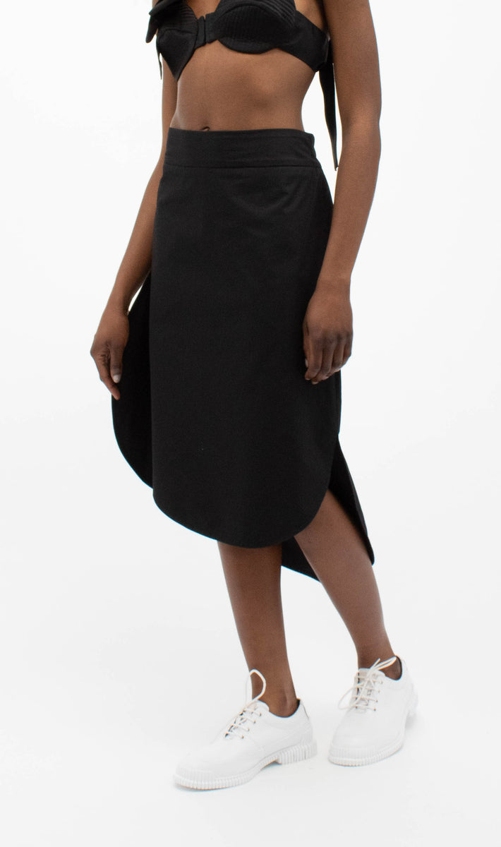 Cloud Skirt 266 in Black