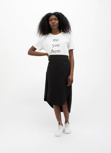 T-shirt: You Me Them Us-50m London