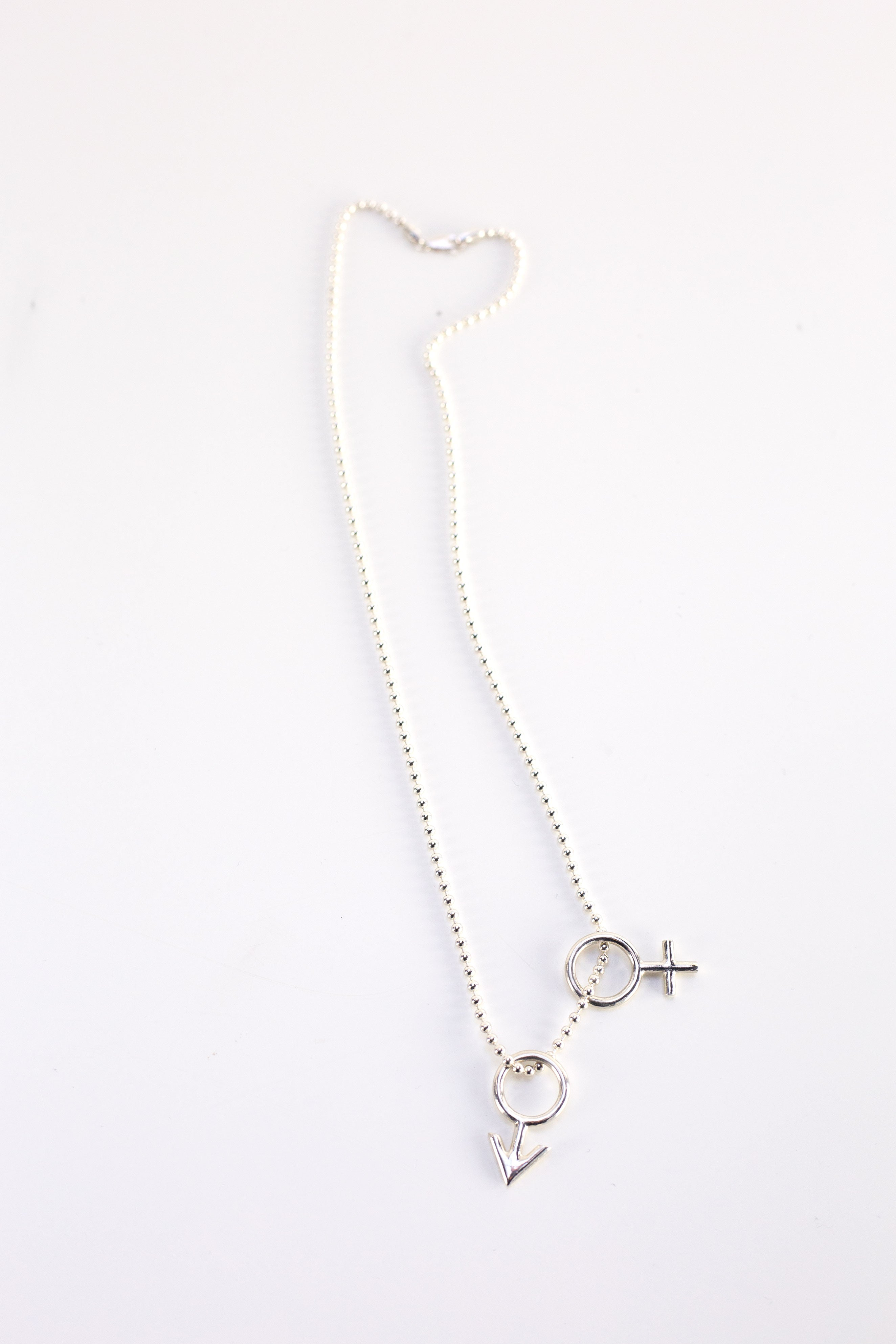 Gender Pendant Chain