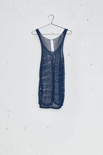 Lace Stitch Knitted Tank Top