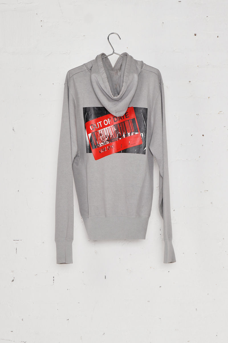 Out Of Date Hoodie Grey