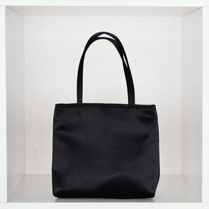 Black Little Silk Bag
