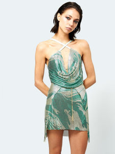 Adrianne Dress Printed Serpentine - 50m