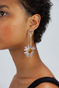 Pressed Flower Earring