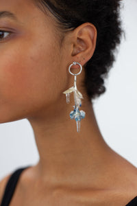 Pressed Flower Earring-50m London