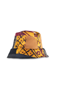 Velvet heavy bucket hat