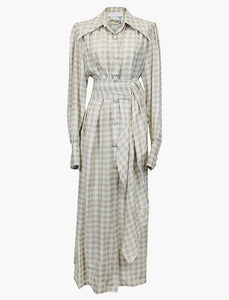 Houndstooth Antique Dress